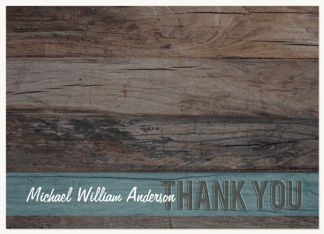 All Natural Thank You Cards