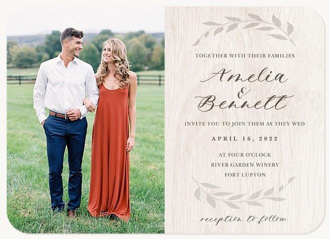 Natural Love Wedding Invitations