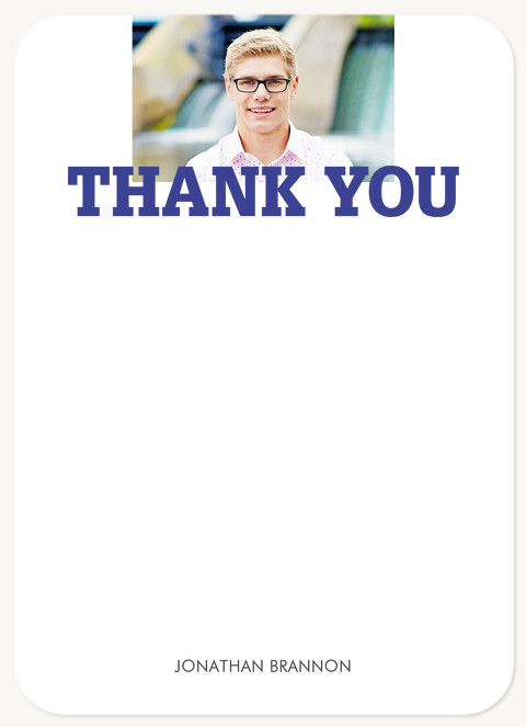 Varsity Team Thank You Cards