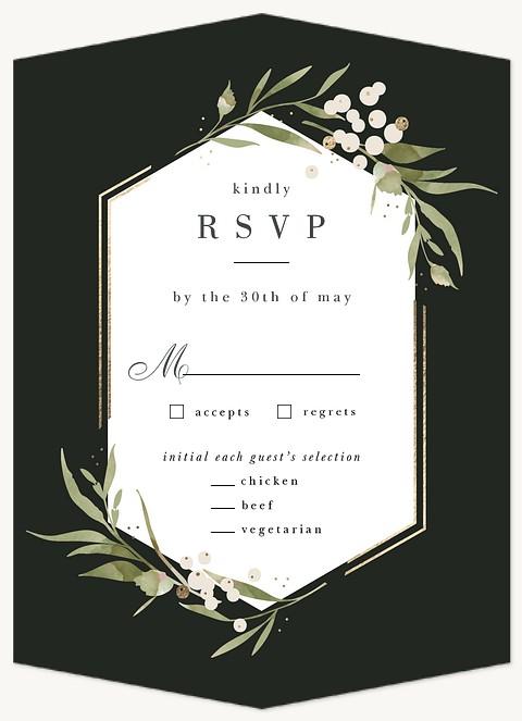 Sonoma Valley Wedding RSVP Cards