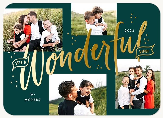 Wonderful Personalized Holiday Cards
