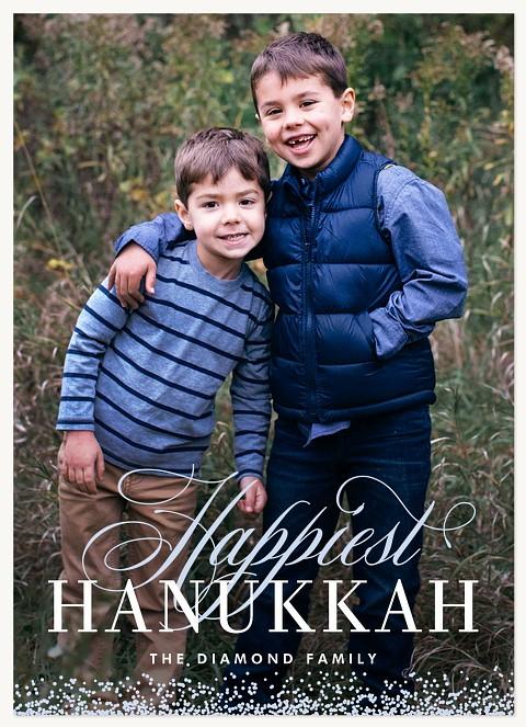Aglow Hanukkah Cards