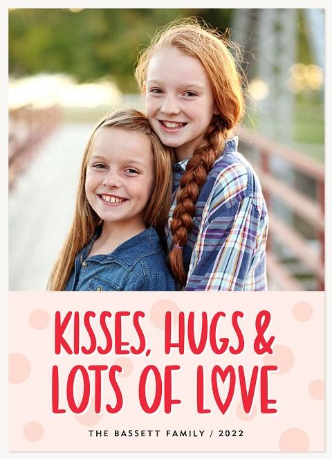 Polka-dot Love Valentines Cards